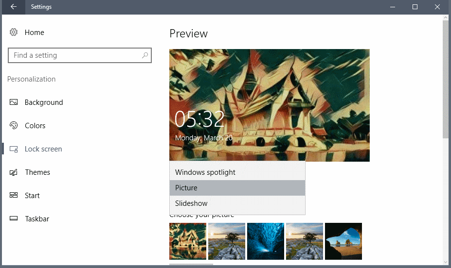 windows lockscreen ads