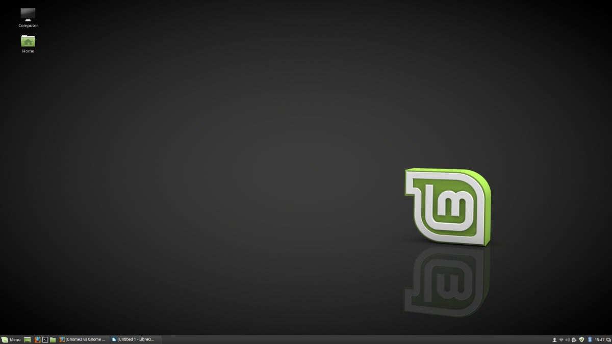 LinuxMint Cinnamon Default