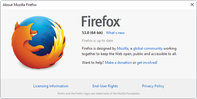 Firefox 53.0 release: find out what is new