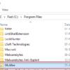 moved program folder