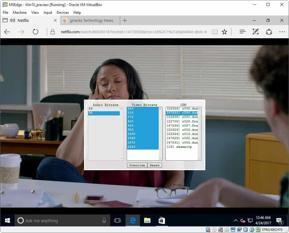 netflix 1080p non-windows 10