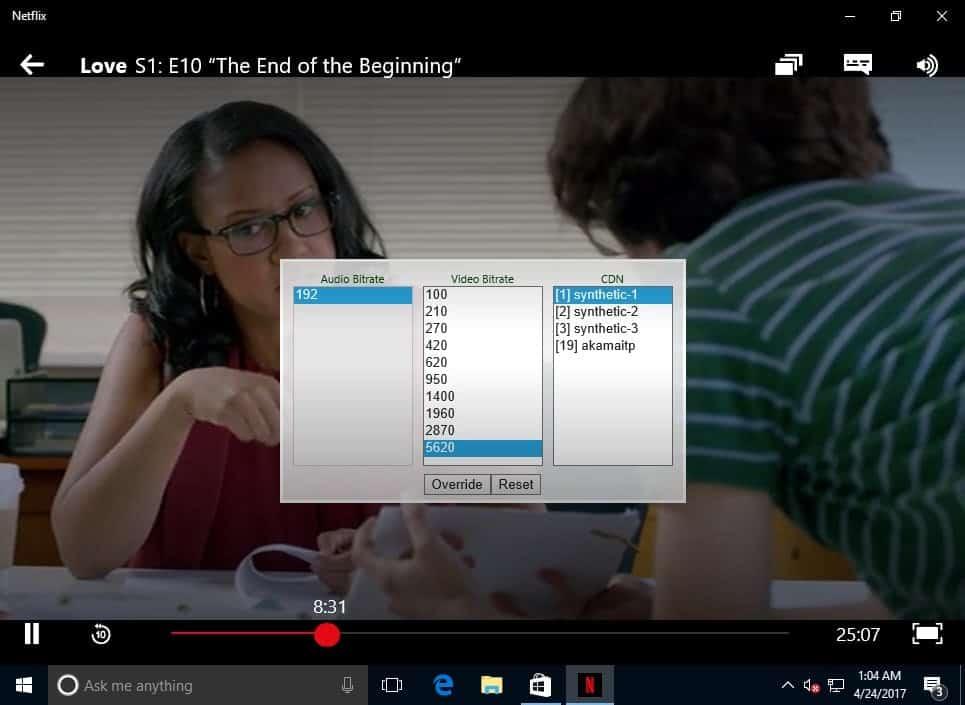 netflix app for windows