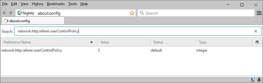 network http referer