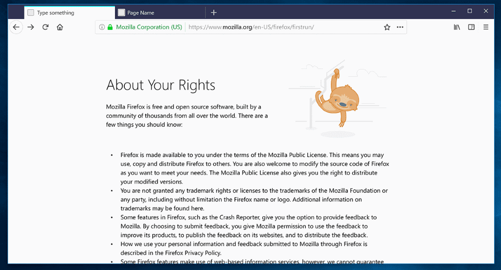 about:rights firefox 57