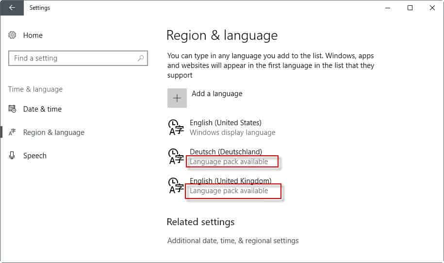 How to install text-to-speech languages in Windows - Tech