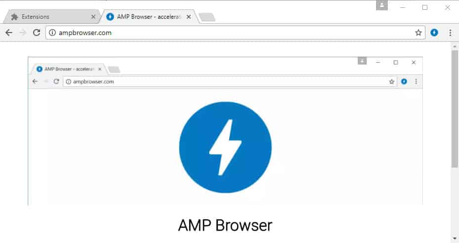 amp browser