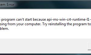 program-cant-start-api ms win crt runtime missing