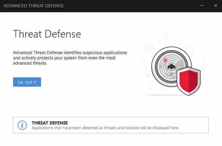 advanced threat defense