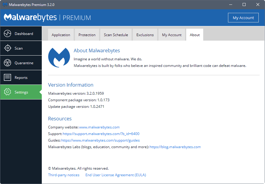 Malwarebytes 3.2 promises better memory usage and stability