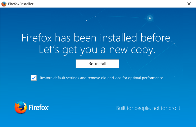 Mozilla plans to add opt-out profile clean-up option to Firefox installer
