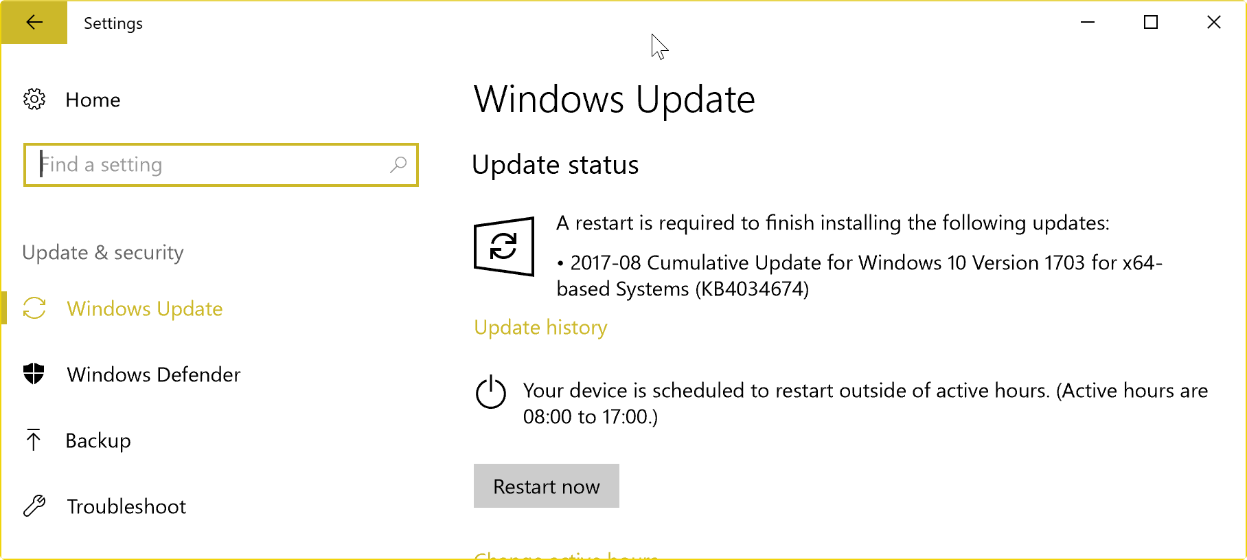 Index of images article windows 10 enable or disable windows update - Windows Update August 2017