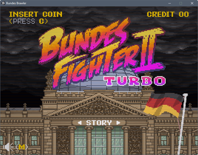 The German Election: Street Fighter II Turbo Style