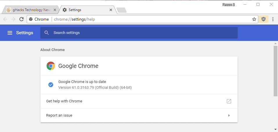 chrome 61 stable release