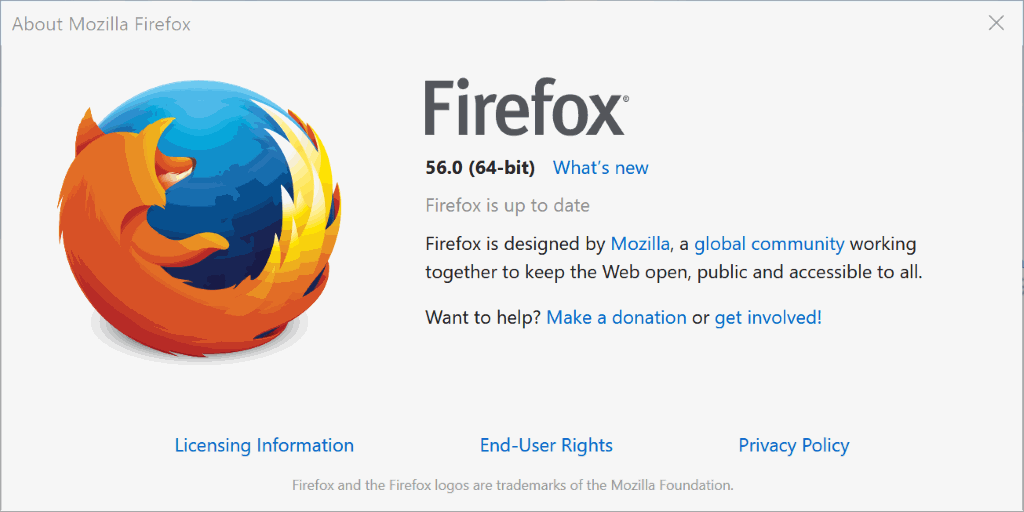 Firefox 56.0: find out what is new