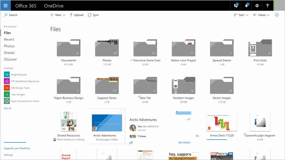 Ignite 2017: big list of OneDrive changes announced