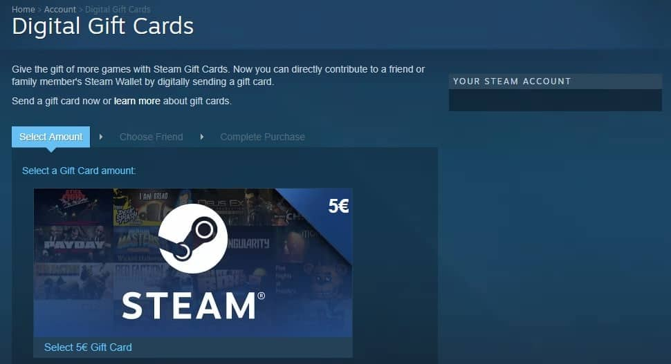 How to use Digital Gift Cards on Steam - gHacks Tech News