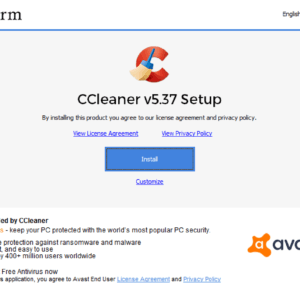 ccleaner avast adware
