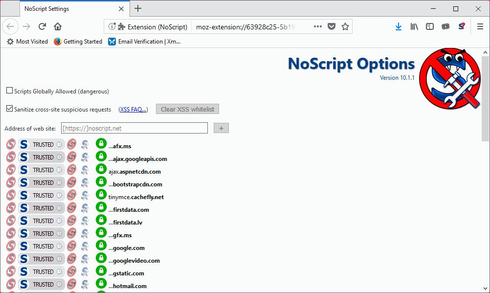 noscript 10