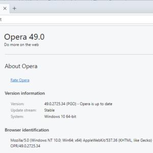 opera 49 update