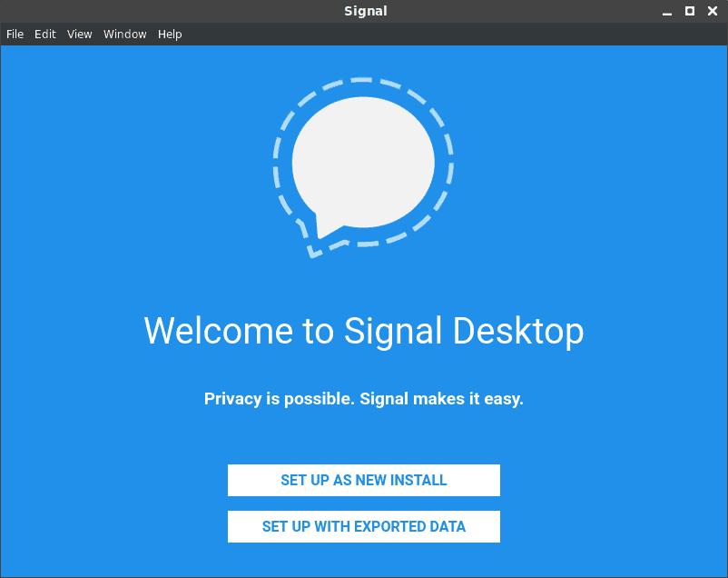 Signal FirstRun