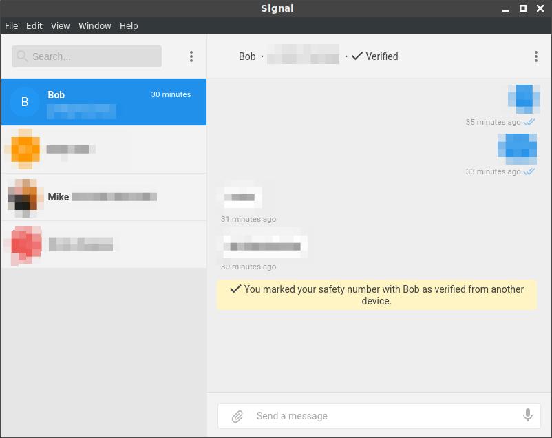 Signal conversation