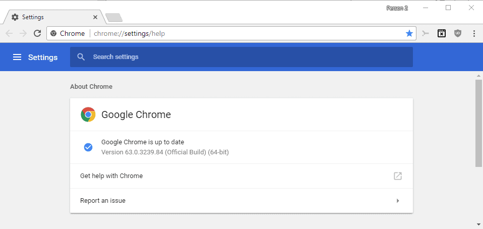 google chrome updates