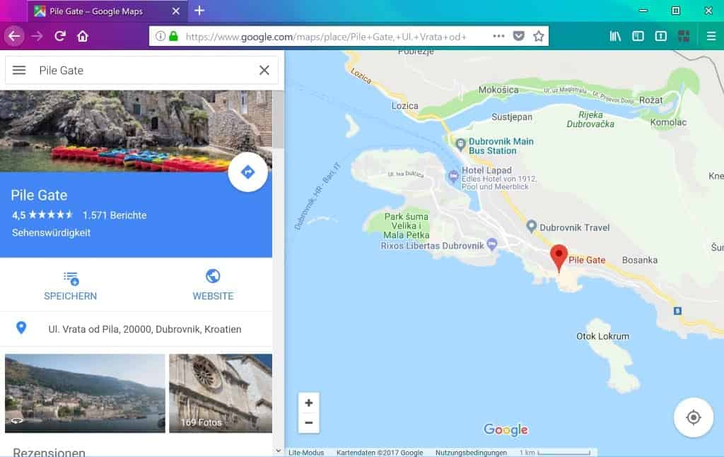 Use Google Maps Go as a lightweight alternative to Google Maps
