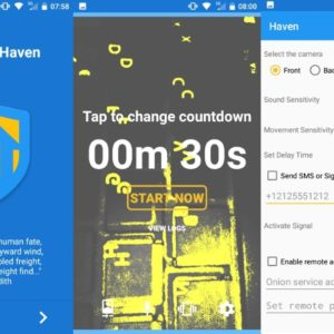 haven android home security
