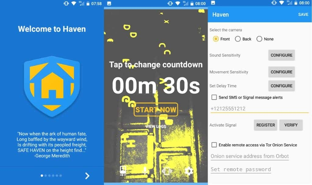 Snowden's 'Haven' app turns smartphone into surveillance device