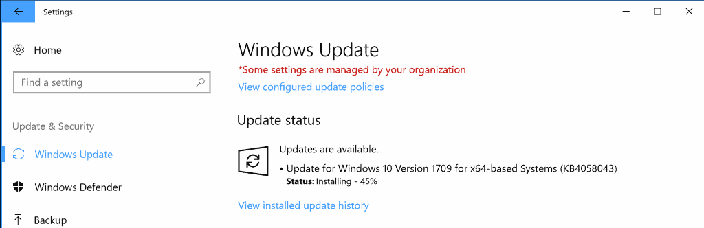 KB4058043: Microsoft Store reliability update for Windows 10 version 1709