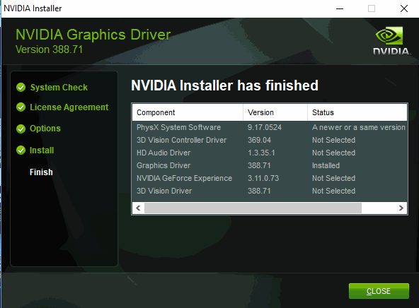 Nvidia ends support for 32-bit operating system drivers