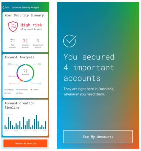 dashlane automation password manager