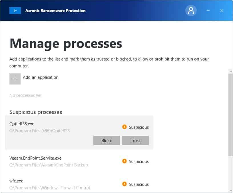 manage processes