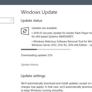microsoft windows updates january 2018