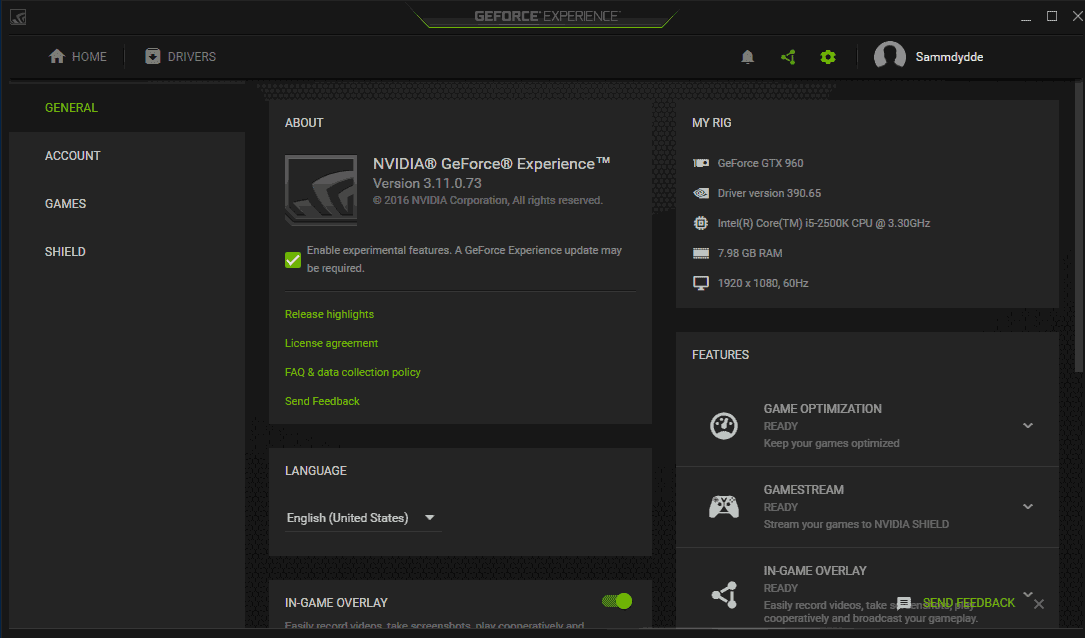 NVIDIA GeForce Driver 30697 WHQL  Notebooks