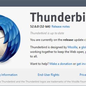 thunderbird 52.6.0