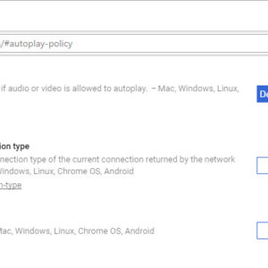 chrome autoplay policy