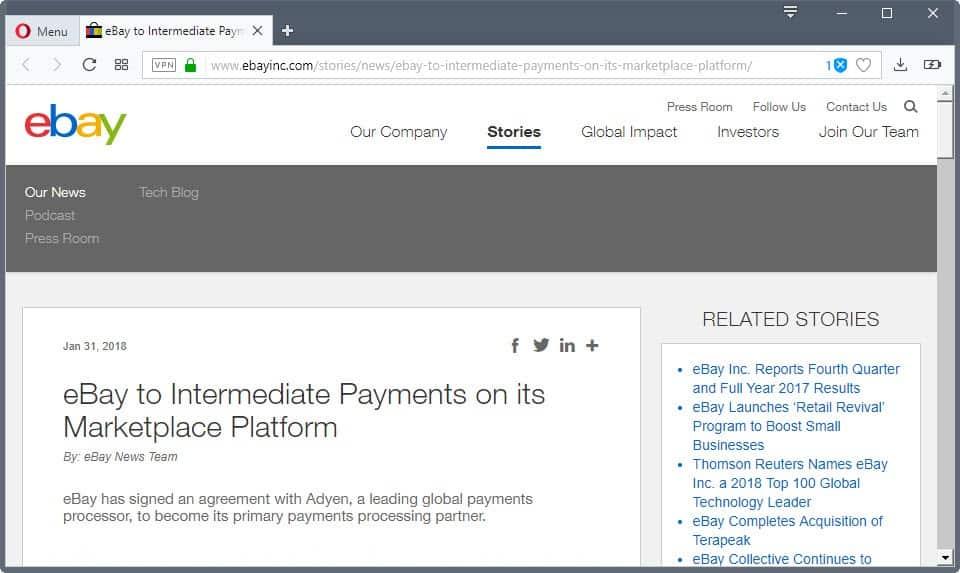 ebay intermediate payments