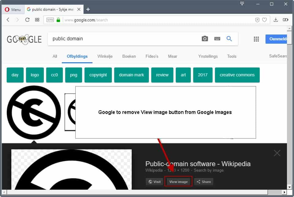 how to delete a image on google images
