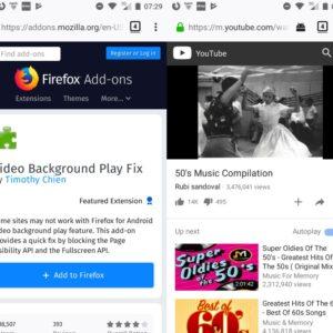 video background play fix firefox