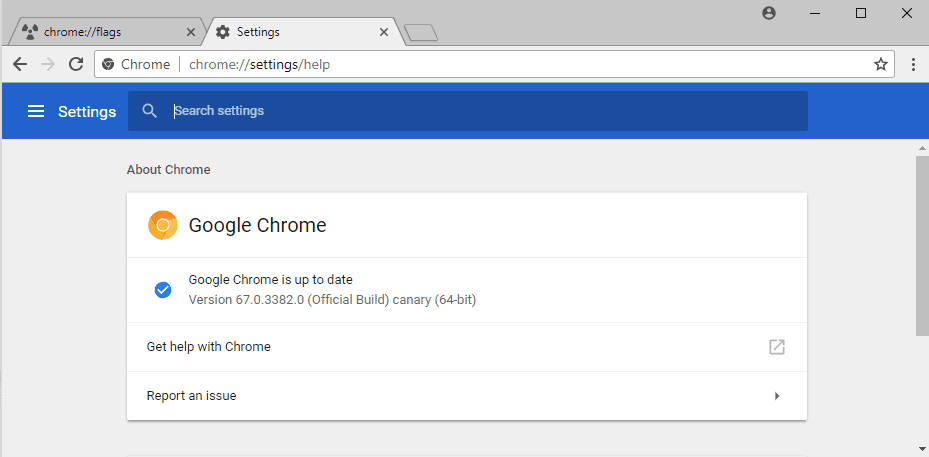 chrome-canary touch improvements