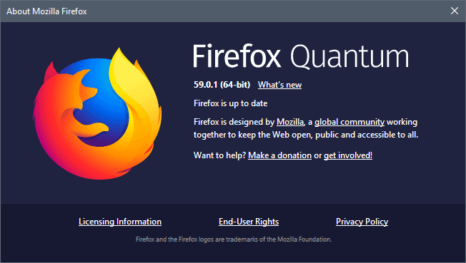 firefox 59.0.1 security update