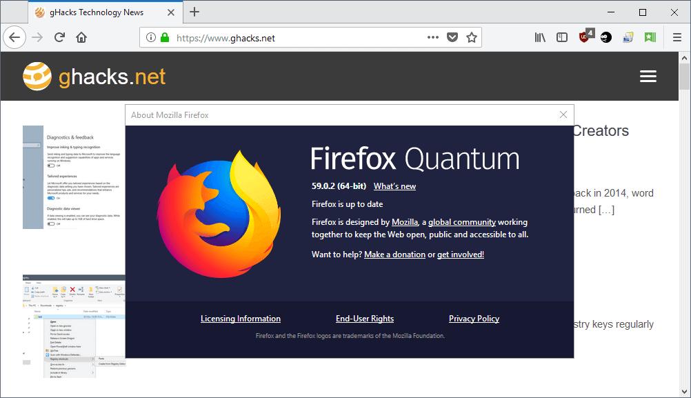 firefox 59.0.2