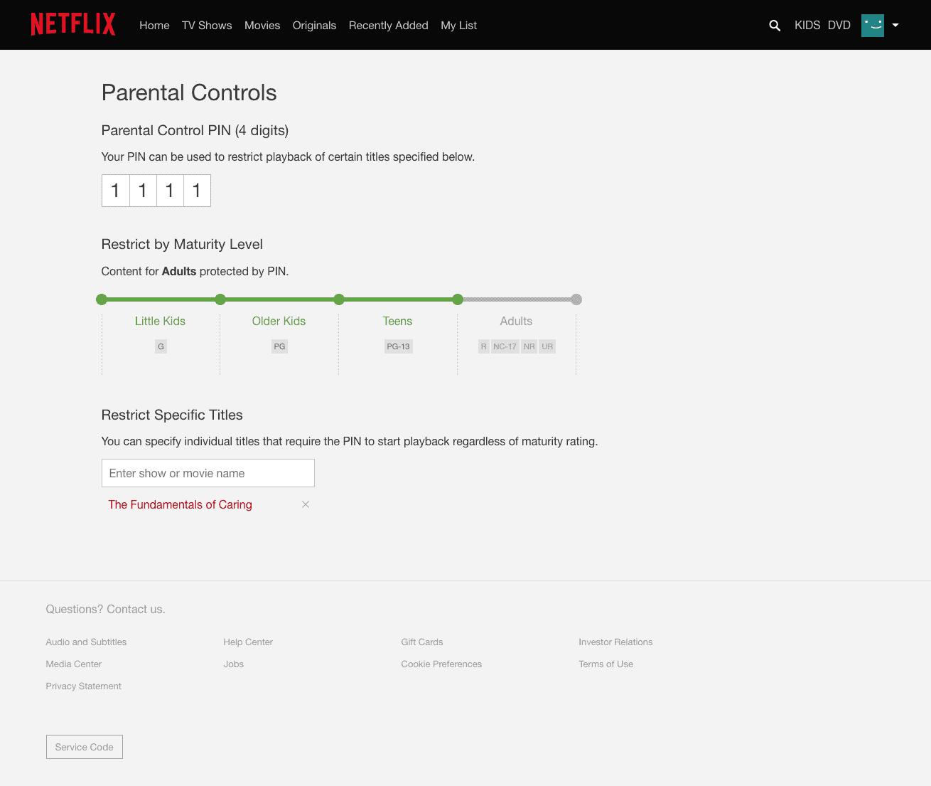 Netflix.Com/Pin