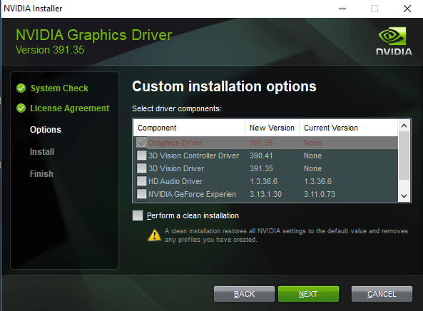 Nvidia Driver 391.35 WHQL with security patches released