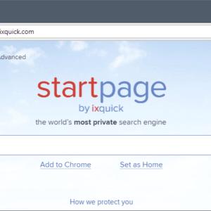 ixquick startpage redirect