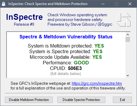 Spectre Next Generation vulnerabilities affect Intel processors