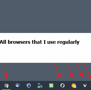 use browsers