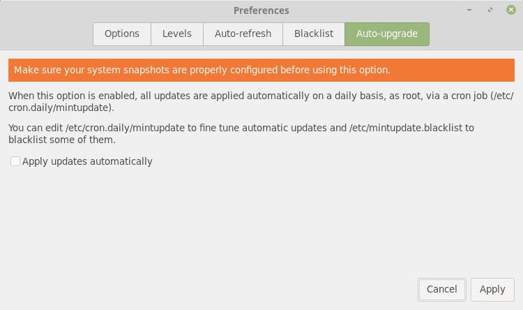 auto-update