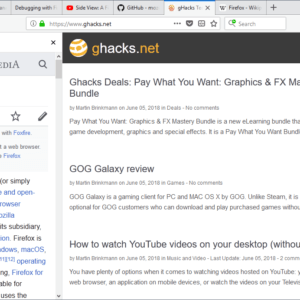 firefox side view